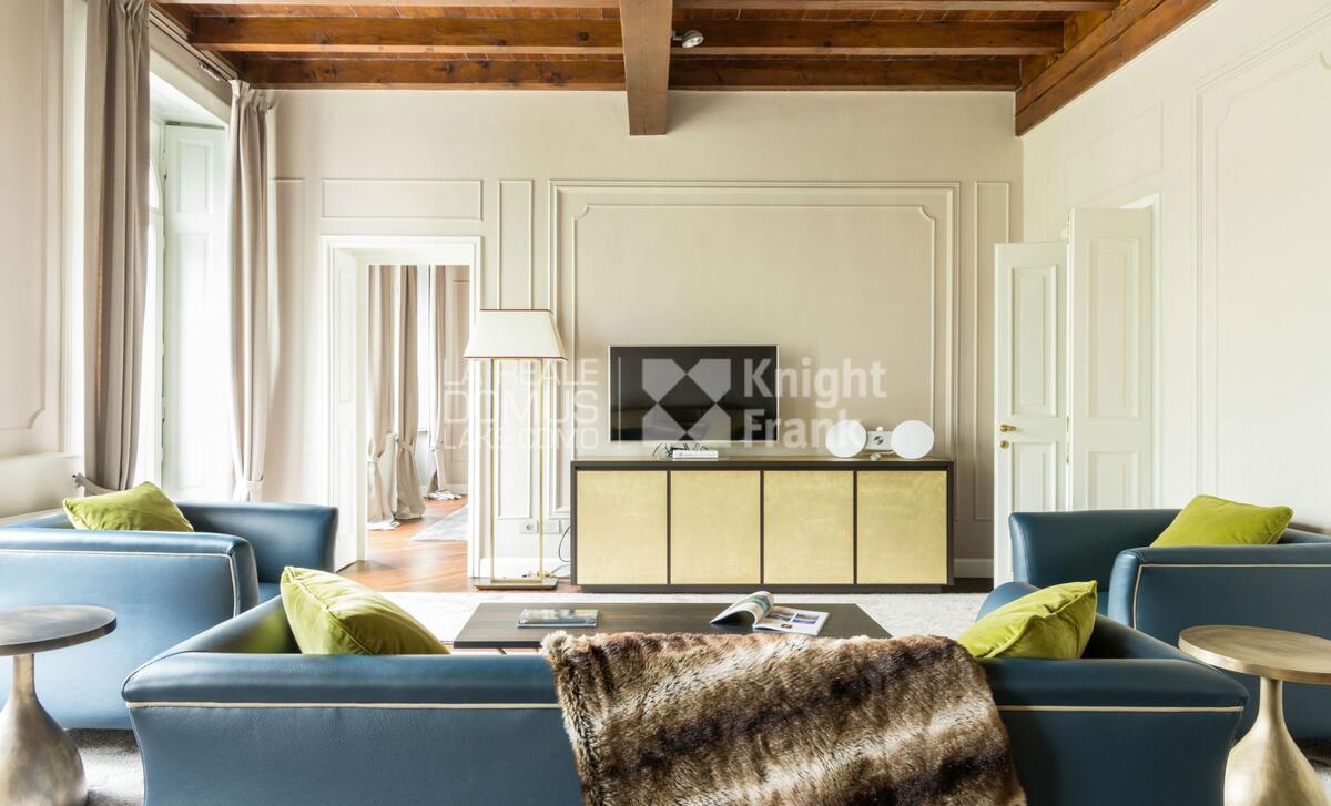 lussuoso appartamento in Piazza Cavour
