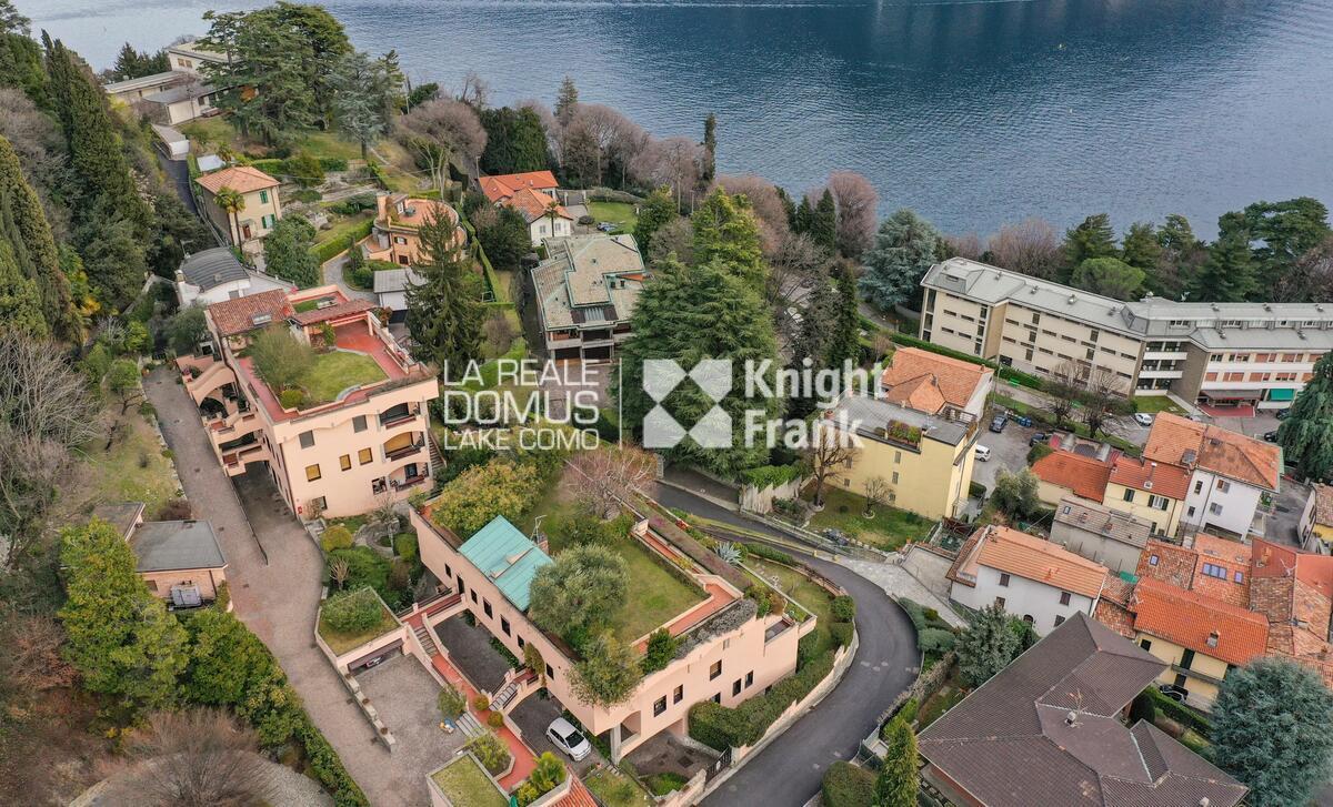 Appartamento panoramico con giardino