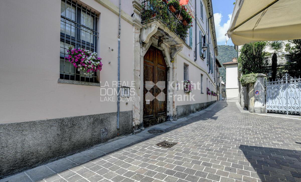Appartamento in centro storico con posto auto